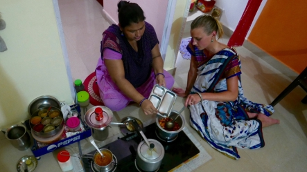 Cooking lesson with Vandana, Orchha