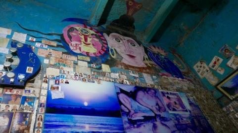 Blue Lassi shop, best lassi in Varanasi