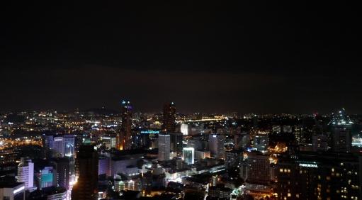 View from the Helibar, Kuala Lumpur by night
